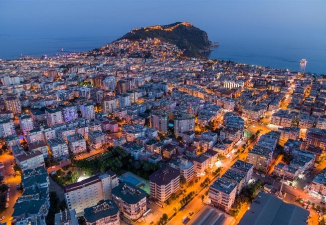 Modern Deluxe Apartments Close to the Beach in Alanya