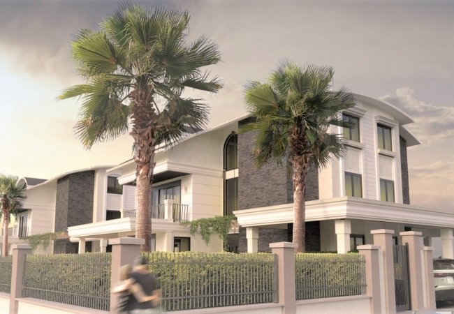 Luxurious Villas Suited for Private Lifestyle in Belek