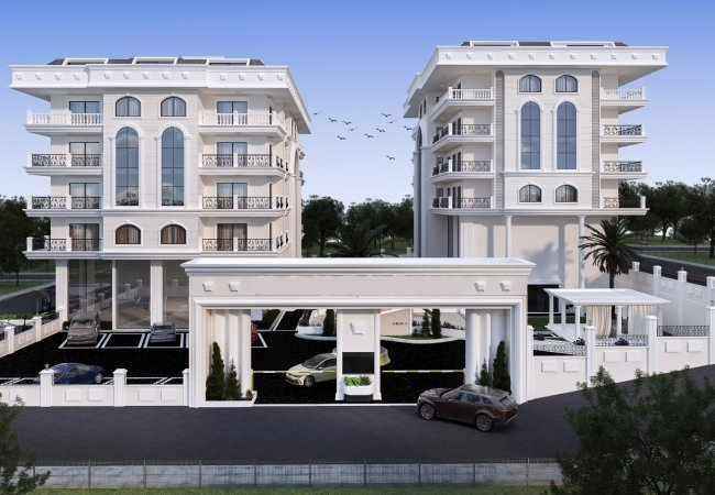 Luxurious Real Estate in Alanya Center Close to the Beach