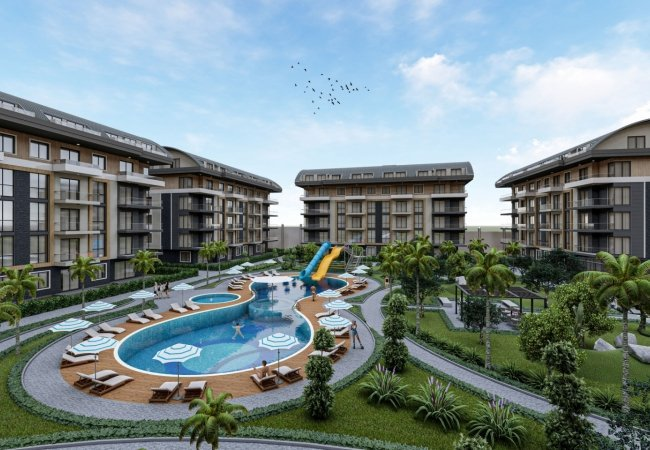Properties with Rich Complex Features in Alanya Oba
