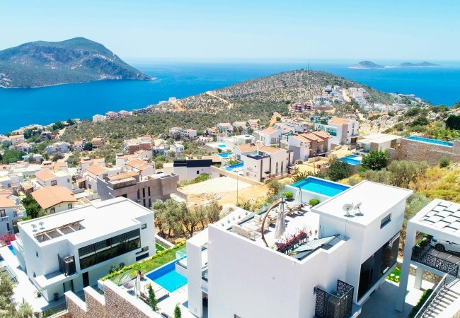 Ultra Luxurious Villa with 3 Swimming Pools in Kalkan