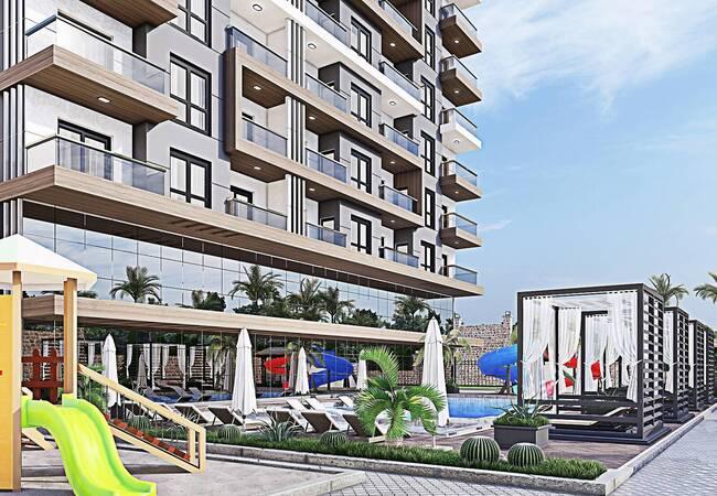 Brand New Alanya Apartments with Swimming Pools and Aquapark