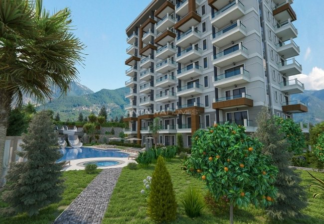 Luxurious Alanya Properties Close to the Airport in Demirtaş