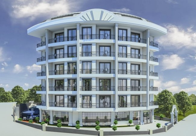 Apartments Within Walking Distance of the Sea in Alanya