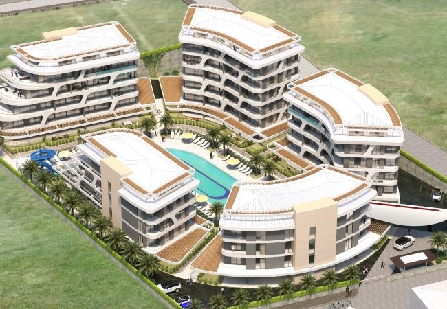 Alanya Real Estate in a Complex with Rich Facilities