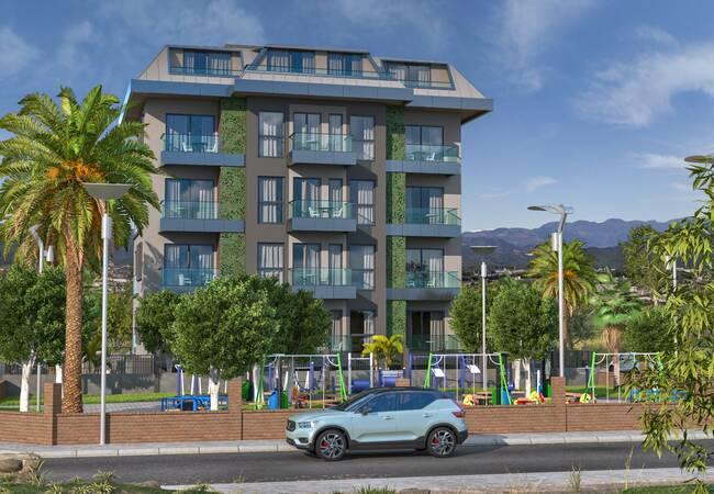 Wheelchair Friendly Luxurious Apartments in Alanya Avsallar