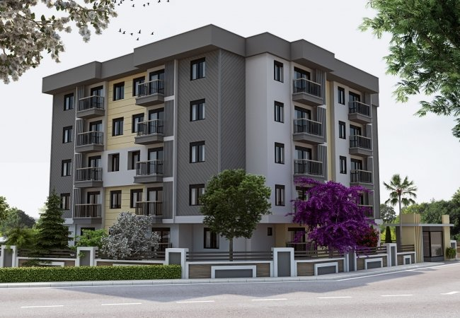Brand New Antalya Apartments with 1 or 2 Bedrooms in Kepez