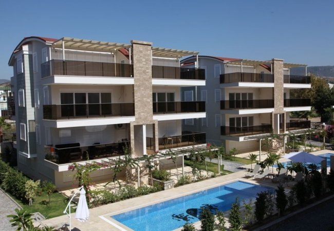 High Quality Ground Floor and Penthouse Flats in Alanya