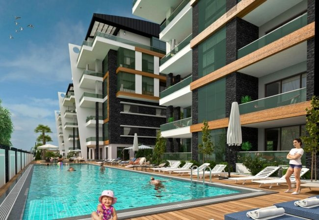 Flats for Sale in Alanya Within Easy Reach to Amenities