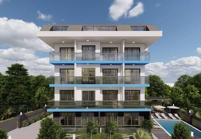 Brand New Properties Near the Sea in Alanya Konakli