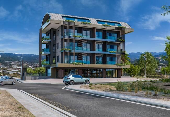 Modern Apartments Close to Daily Amenities in Alanya Antalya