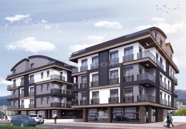 New Build Investment Flats Near University in Konyaalti