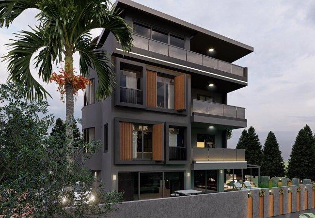 Triplex Villa with Affordable Price in Alanya Mahmutlar