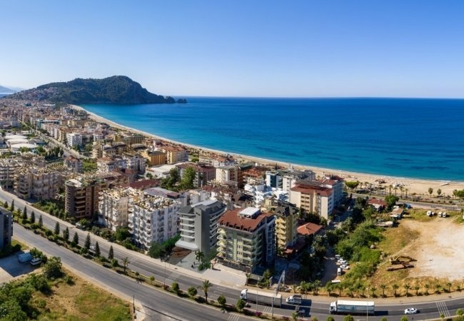 Luxury Apartments with Swimming Pools in Alanya Kleopatra