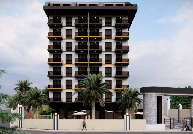Apartments in a Luxury Residential Complex in Alanya Antalya