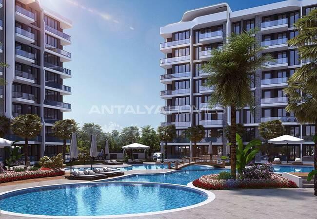 Lyxig Fastighet Med Rika Komplexa Funktioner I Antalya