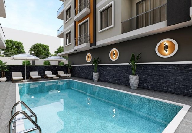 Advantageously Located Real Estate in Alanya Antalya