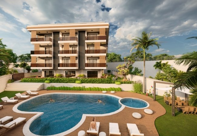 Villa Concept Luxurious Apartments with Sea View in Alanya