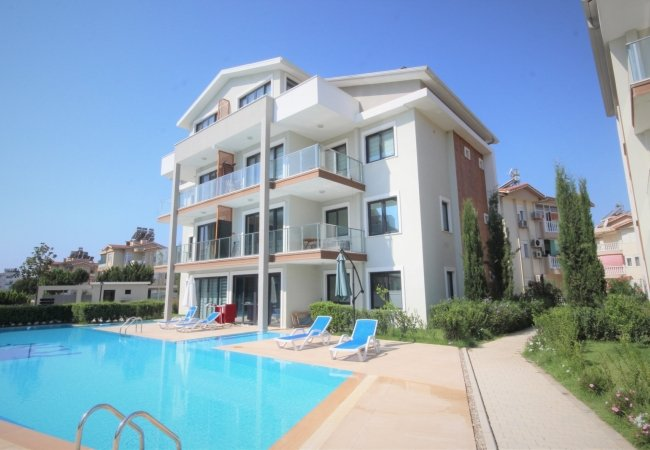 Well-located Apartment in Belek in a Secure Complex