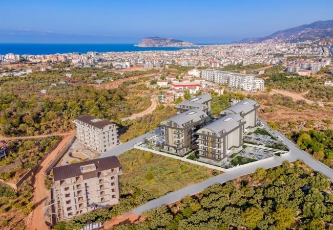 Investment Flats Near New Highway in Alanya Oba