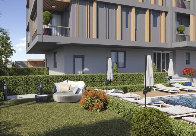 Well Located Luxurious Apartments in Antalya Sirinyali