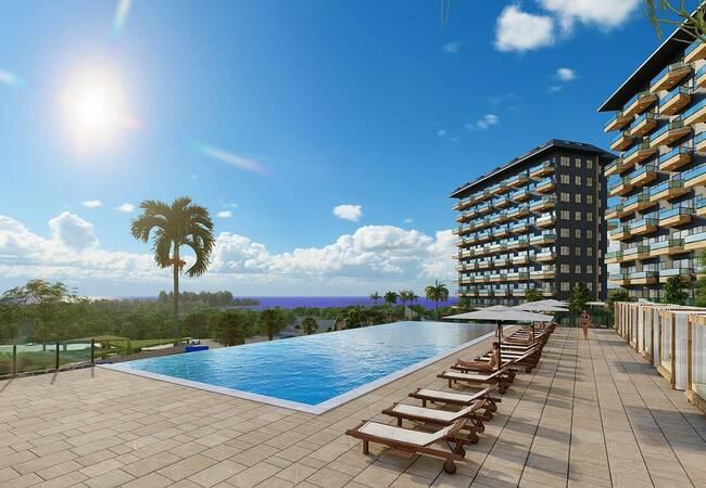Brand New Luxury Apartments for Sale in Alanya Avsallar