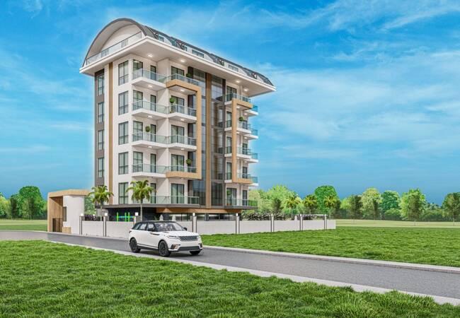 Luxe Appartementen Met Faciliteiten Dicht Bij Zee In Alanya