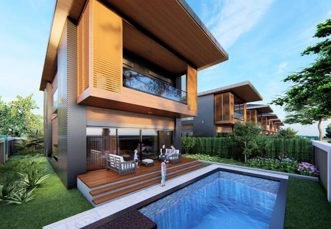 Detached and Semi-detached Villas of Deluxe Housing Project in Belek