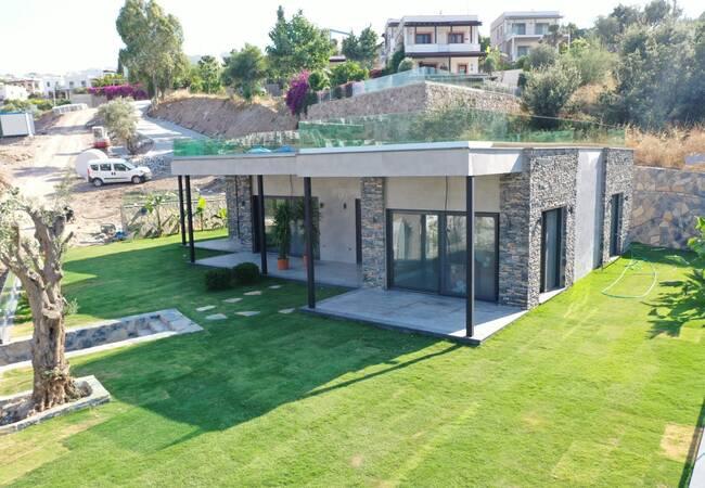 Luxury Designed Villas with Sea View in Bodrum Gundogan