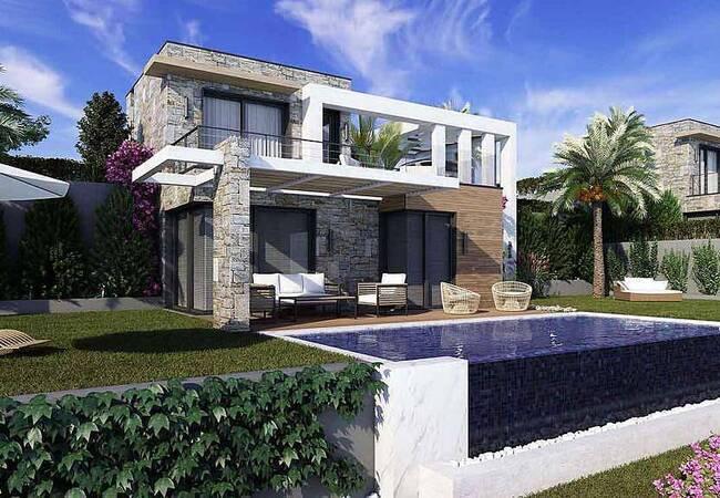 Luxury Designed Spacious Duplex Villas in Bodrum Gumusluk