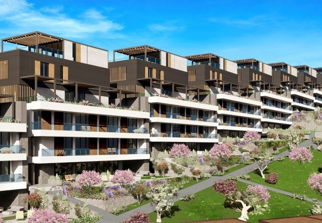 Luxurious Investment Apartments in Bodrum Turkbuku