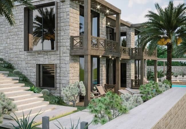 Luxury Villas with Sea View and Pools in Mugla Yalikavak