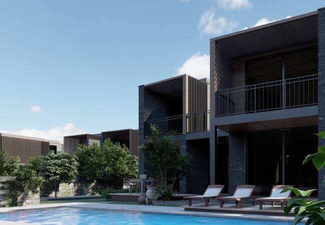 Villas Within Walking Distance of the Sea in Mugla Turkbuku