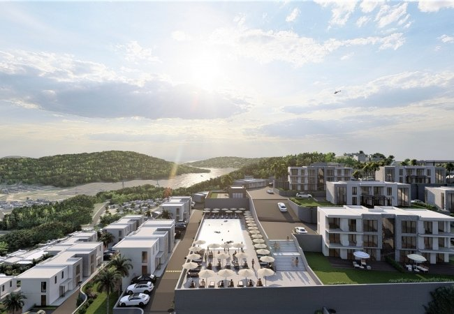 Investment Apartments Close to the Airport in Bodrum Adabuku