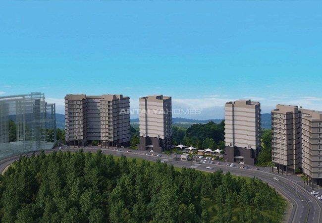Panoramic Valley View Flats in Istanbul Bahcesehir