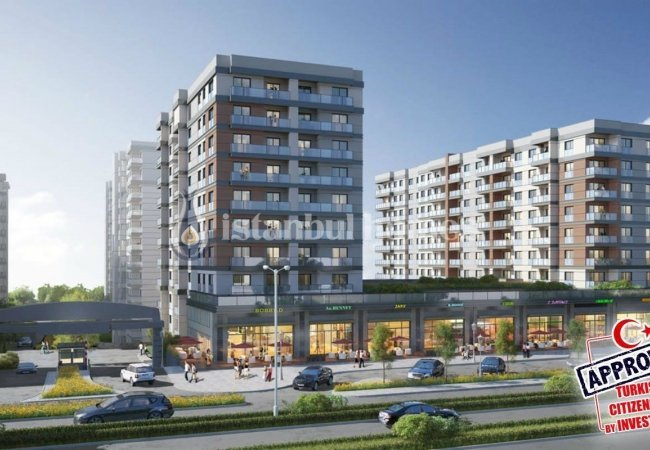 Stylish Apartments in a Luxury Complex in Kucukcekmece