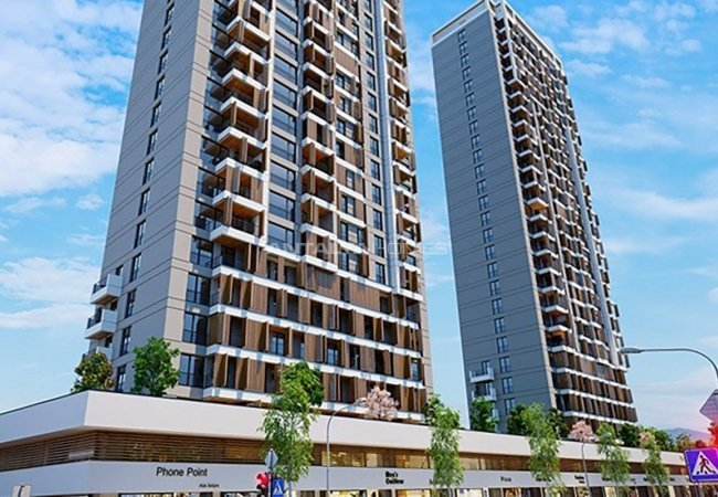 Sea and Island View Flats Close to All Amenities in Istanbul