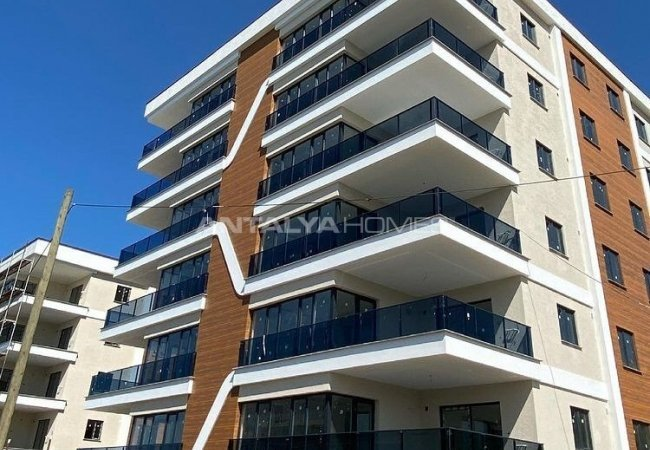 Sea and Nature View Spacious Apartments in Bostanci Trabzon