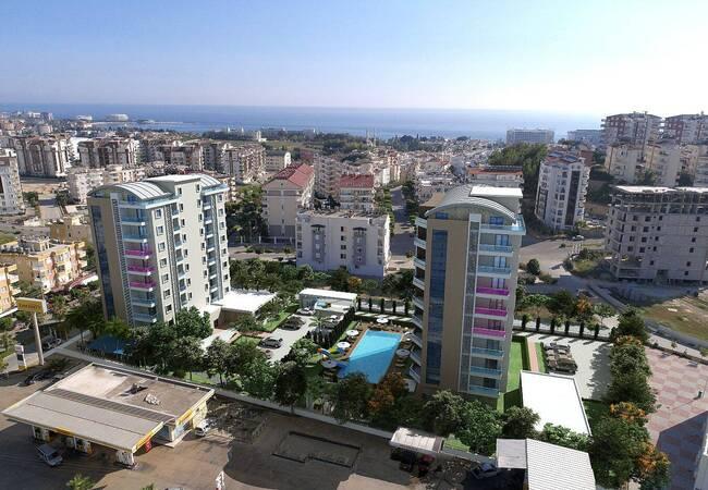 Exclusive Properties in the Deluxe Complex in Alanya
