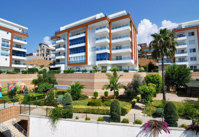Flats for Sale with Complex Features as Good as a 5-hotel in Alanya
