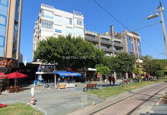 Prime Location Apartment with Sea & Oldtown Views in Antalya