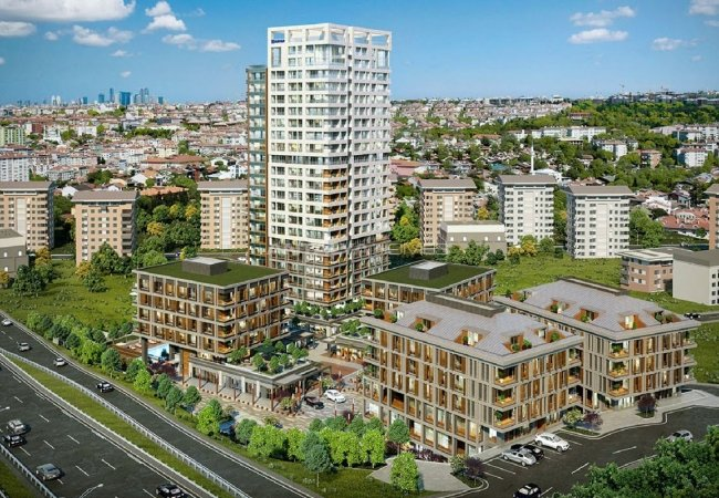 Exclusive Flats in a Mixed Use Project in Kadıköy Istanbul