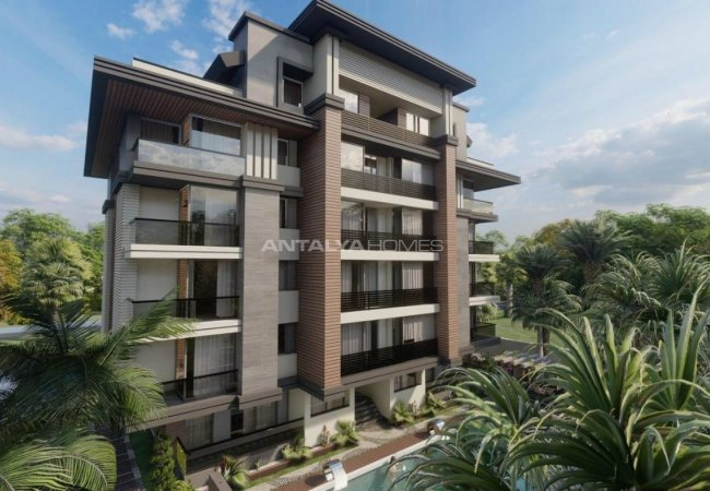 Luxury Apartments in Complex with Rich Facilities in Antalya