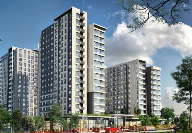 First Class Apartments in Prime Location in Maltepe Istanbul