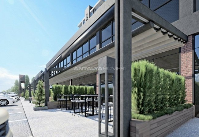 Perfectly Located Spacious Commercial Shops in Nilufer Bursa