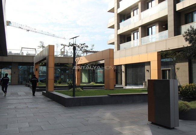 Commercial Shops in a Mixed-use Project in Atakoy