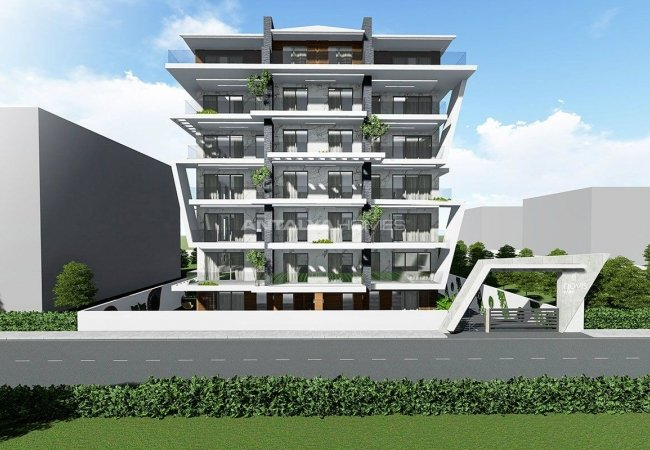 Creative Designed Apartments with Sea View in Alanya
