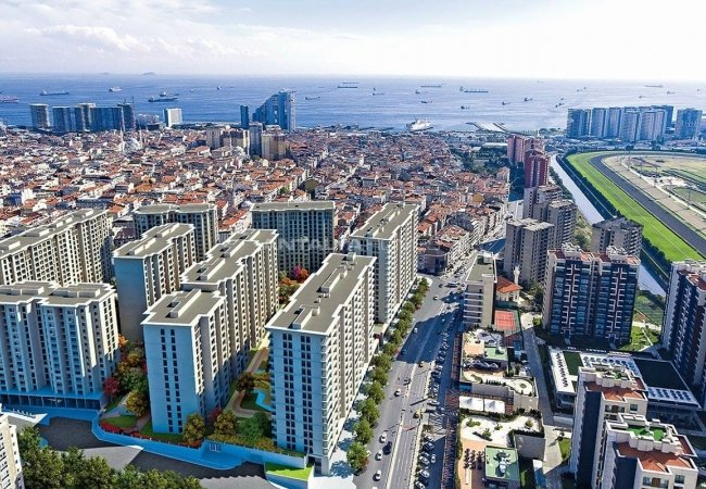 Квартиры в Центре Стамбула для Прибыльных Инвестиций