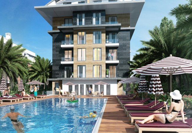 Sea View Properties with a Private Beach in Alanya
