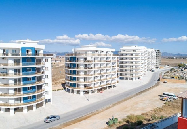 Luxe Sea View Apartments in Northern Cyprus Within Complex